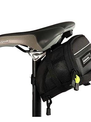 ROSWHEEL® תיק אופניים 2.5LLתיקי אוכף לאופניים עמיד לאבק תיק אופניים פוליאסטר 1680D תיק אופניים רכיבה על אופניים 19x10.5x13