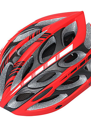 Hora/Cesta - Unisex - Cyklistika/Horská cyklistika/Silniční cyklistika/Rekreační cyklistika - Helma ( Bílá/Červená/Černá , EPS+EPU ) 24