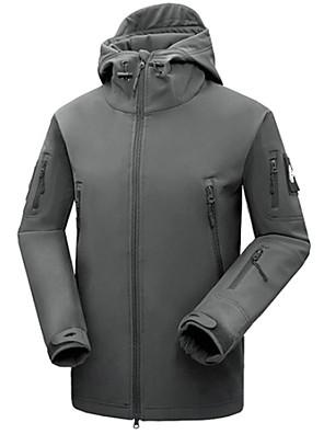 ספורטיבי ג'קט לרכיבה לגברים / יוניסקס שרוול ארוך אופנייםעמיד למים / נושם / שמור על חום הגוף / ייבוש מהיר / עמיד / מבודד / מוגן מגשם /