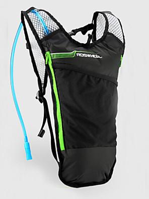 ROSWHEEL® תיק אופניים 5Lרכיבה על אופניים תרמיל / חבילות שתיה ומימיות מים עמיד למים / רוכסן עמיד למים / עמיד ללחות / ניתן ללבישהתיק