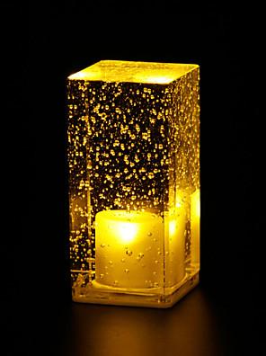 coffee shop dekorace stolní lampa stolní lampa svítící crystal bubliny bar LED světlo l6.5 * w6.5 * h13.5cm 0.5W