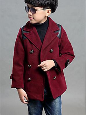 Boy Zima Polyester Bundičky a kabáty Dlouhý rukáv