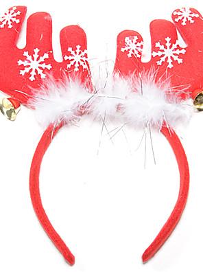 jul fjer gevirer klokke hår ornament