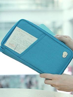 5 L Carteiras / Wristlet / Travel Organizer Viajar Ao ar Livre / Esportes de Lazer Multifuncional Verde / Azul Lona fengtu