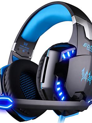 KOTION hVER G2000 Høretelefoner (Pandebånd)ForComputerWithMed Mikrofon / DJ / Lydstyrke Kontrol / Gaming / Sport / Lyd-annulerende /