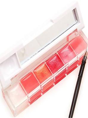 Gloss Labial Molhado Gel Gloss  Translúcido / Gloss Colorido / Humidade / Natural / Minimizador de Poros / Brightening Multi Cores 1