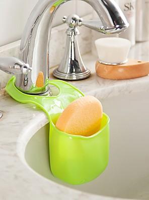 ziqiao multifunktionelle køkken badeværelse opbevaringspose vragrester afløb (tilfældige farver)