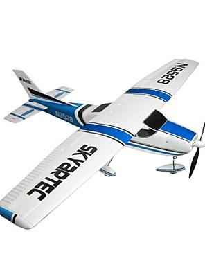 Skyartec rc vliegtuig Cessna 182 5ch bl ARTF 11.1v 1100mAh (zonder TX / RX) (ap03-5)
