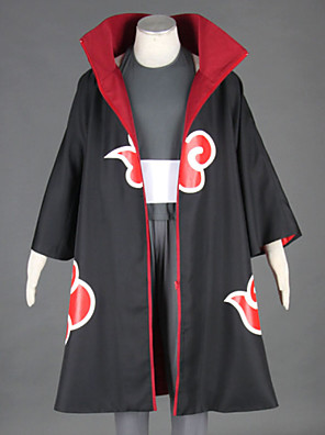 Naruto Kakuzu Cosplay Costume  Long Robe