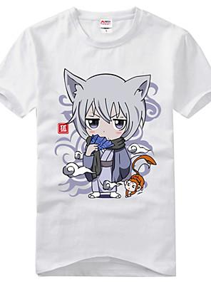 Inspirovaný Kamisama Kiss Tomoe Anime Cosplay kostýmy Cosplay T-shirt Tisk Czarny Krátké rukávy Trička
