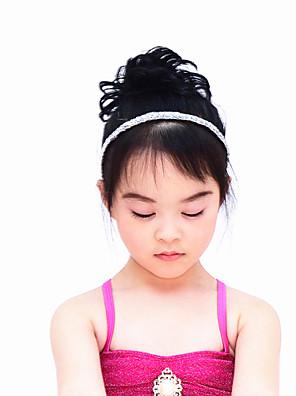אביזרי ריקוד כיסויי ראש בגדי ריקוד נשים / בגדי ריקוד ילדים ביצועים נצנצים Paillettes / קפלים חלק 1 גומיות