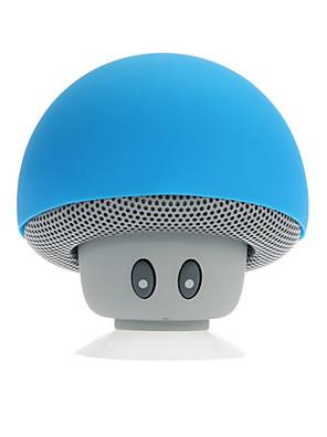 רמקולים מיני ניידים אלחוטיים Bluetooth ללבנים 6 צבעים שחורים aux ידי iPhone / Samsung / ipad בחינם /