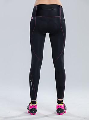 SANTIC® Čapáky Dámské Prodyšné / Pohodlné / 3D Pad Jezdit na kole Cyklistické kalhoty / Kalhoty / Kraťasy podšité / Spodní část oděvu