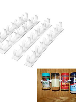 krydderi arrangør rack kabinet dør klip flasker vægbeslag køkken cook værktøjer