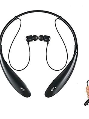 estilo neckband hbs800 estéreo esporte sem fio fone de ouvido bluetooth fone de ouvido com microfone para iphone e outros