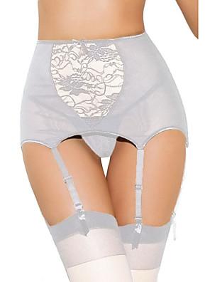 Vrouw Kousenbanden/jarretelles Nachtkleding Sexy Polyester / Spandex Wit / Rood Vrouwen
