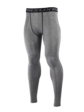 Arsuxeo® מכנסי רכיבה לגברים שרוול ארוך אופנייםנושם / שמור על חום הגוף / ייבוש מהיר / חומרים קלים / מגביל חיידקים / נמתח לארבעה כיוונים /