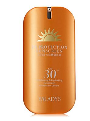 Solcreme Solcreme Solbeskyttelse / Olie kontrol / Længerevarende / Concealer / Vandtæt / Ujævn hud / Naturlig / Pore Reducerende / SPF30