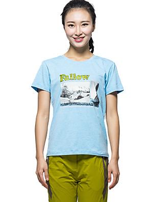 Mulheres CamisetaIoga / Acampar e Caminhar / Taekwondo / Boxe / Caça / Pesca / Alpinismo / Hipismo / Exercicio e Fitness / Golfe /