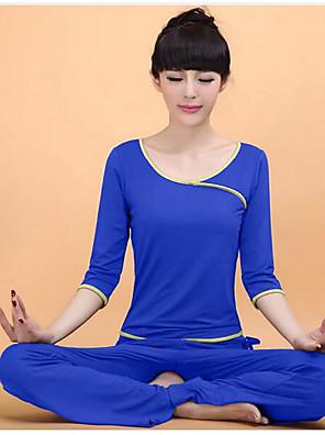 יוגה מדים בסטים נושם / חלק גמישות גבוהה בגדי ספורט לנשים-ספורטיבי,יוגה / כושר גופני / ספורט פנאי
