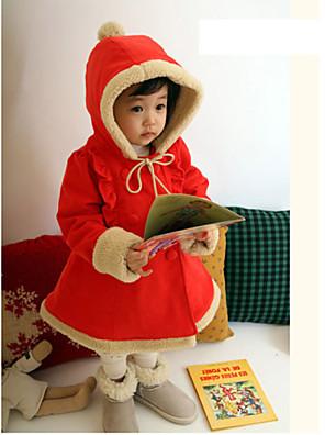 Cosplay Kostýmy / Kostým na Večírek Pohádkové / Vánoční santa obleky Festival/Svátek Halloweenské kostýmy Červená Jednobarevné Kabát