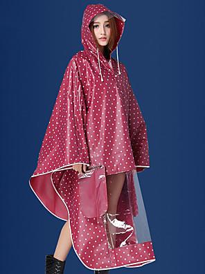 ספורטיבי לנשים ספורט מעיל גשם אדום / כחול מחנאות וטיולים / ספורט פנאי