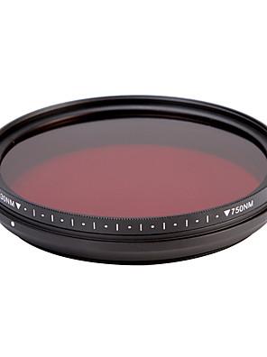 fotga® all-in-one nastavitelný 530nm-750 nm infračervený ir průchod x-ray filtr objektivu 67mm