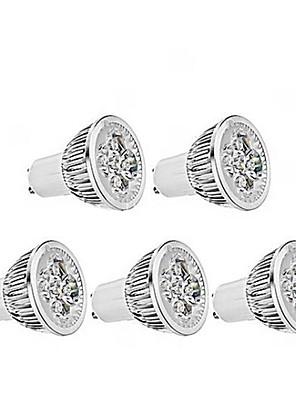 5W GU10 LED-spotlampen MR16 1 350-400 lm Warm wit Dimbaar AC 220-240 V 5 stuks