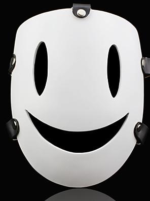 Maska Inspirovaný K Chi Ch Anime Cosplay Doplňky Maska Biały Pryskyřice Pánský / Dámský