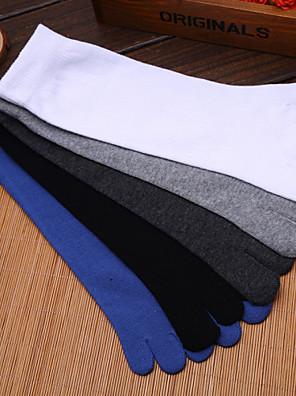 Heren Sokken/Fietssokken Yoga Anti-Slip / Zweetafvoerend Voorjaar / Herfst / Winter Grijs-Sportief-Gratis Grootte
