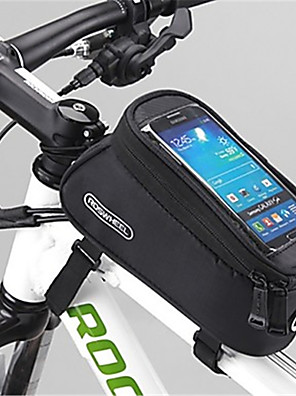 ROSWHEEL® Cyklistická taška 1.7LBrašna na rám Voděodolný zip / Odolný proti vlhkosti / Odolné vůči šokům / Nositelný Taška na koloPVC /