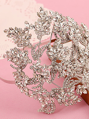 Women's / Flower Girl's Rhinestone / Crystal Headpiece-Wedding / Special Occasion / Outdoor Headbands 1 Piece