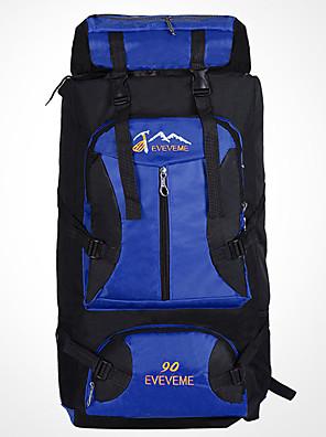 90 L Batohy / Tašky na notebook / Travel Organizer / batoh / Ruksak Outdoor a turistika / Lezení / cestování Outdoor / VýkonVoděodolný /