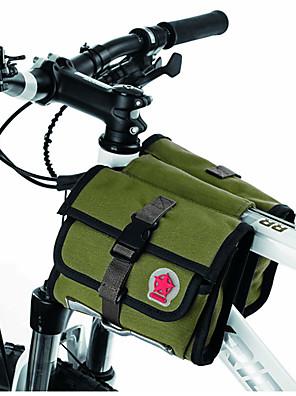 תיק אופניים 1.5Lתיקים למסגרת האופניים רוכסן עמיד למים / עמיד ללחות / חסין זעזועים / ניתן ללבישה תיק אופניים פי וי סי / בד / Teryleneתיק