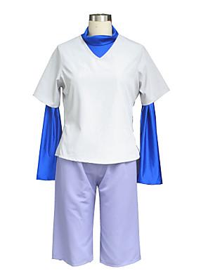 Inspirovaný Hunter X Hunter Killua Zaoldyeck Anime Cosplay kostýmy Cosplay šaty Jednobarevné Biały Vesta / Trička / Kraťasy