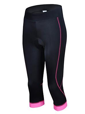 Esportivo Calças 3/4 Para Ciclismo Mulheres Manga Curta Moto Respirável / Redutor de Suor Blusas / Fundos ElastanoPrimavera / Verão /