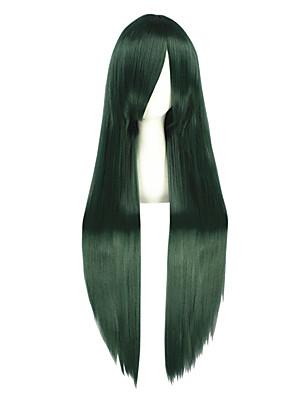 Cosplay Paruky Kagerou Project Mio Akiyama Zielony Dlouhé Anime Cosplay Paruky 100 CM Horkuvzdorné vlákno Pánský / Dámský