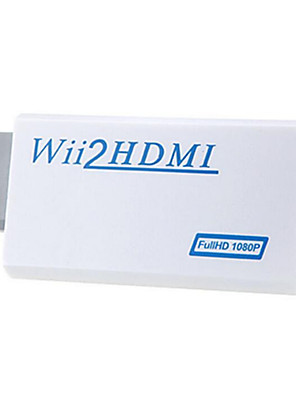 Windows 7 0,06 M support hd 1080p wii til HDMI konverter
