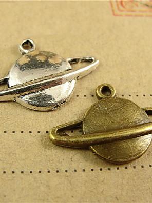 DIY smykker plads stil legering charms 100pcs