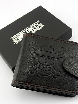 Bolsa Inspirado por One Piece Monkey D. Luffy Anime Acessórios de Cosplay Bolsa Preto Pele / Pele PU Masculino / Feminino