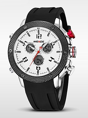 WEIDE® Men's Luxury Brand Double Time Analog-Digital Multifunctions Waterproof Sport Watch