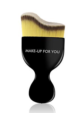 1 מברשת מייקאפ שיער סינטטי מקצועי / נסיעות Plastic פנים MAKE-UP FOR YOU