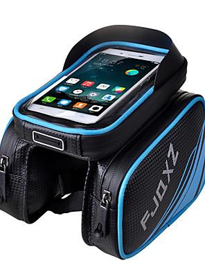 FJQXZ® תיק אופניים 3LLתיקים למסגרת האופניים עמיד למים / מוגן מגשם / רוכסן עמיד למים / מונע החלקה / חסין זעזועים / רב תכליתי / מסך מגעתיק