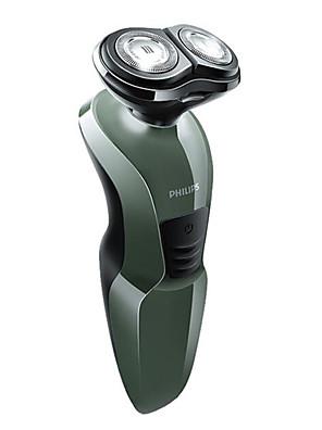 Depilador Elétrico Masculino Rosto Elétrico / Barbeadora Rotativa Cabeças Flexiveis / Cabeça Giratória / Luz LED Aço Inoxidável PHILIPS