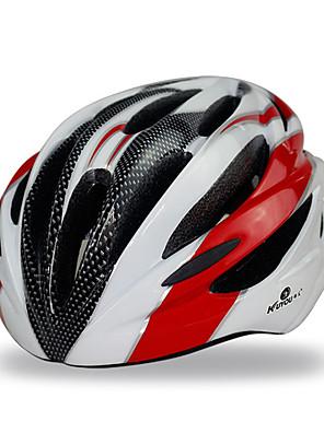Sporty-Unisex-Cyklistika / Zimní sporty / Bruslení-Helma(Žlutá / Zelená / Červená / Modrá,PC / EPS)17 Větrací otvory