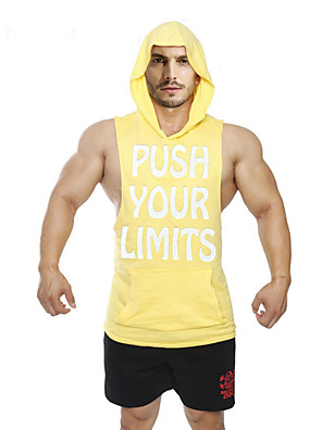 Running Tops / Vest / Hoodie / Shirt / Sweatshirt / Tank Men's SleevelessBreathable /  Sweat-wicking / Static-free