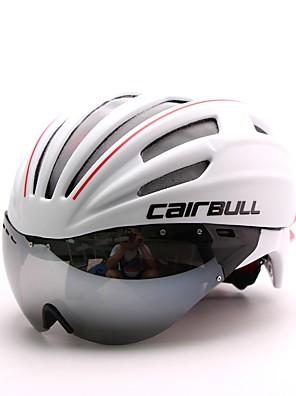 Capacete(Branco,PC / EPS) -Cara-Total / Montanha / Estrada / Esportes-Mulheres / Homens / Unisexo 28 AberturasCiclismo / Ciclismo de