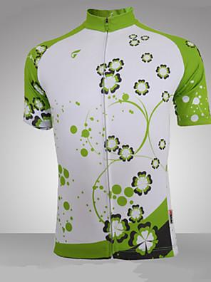 Getmoving® Camisa para Ciclismo Mulheres Manga Curta Moto Respirável / Bolso Traseiro / Filtro SolarPersonalizado / Camiseta Polo /