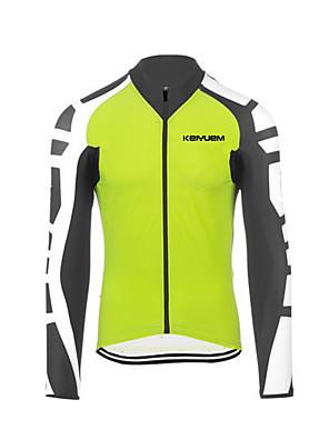 KEIYUEM® Camisa para Ciclismo Mulheres / Homens / Unissexo Manga Comprida MotoImpermeável / Respirável / Secagem Rápida / Design