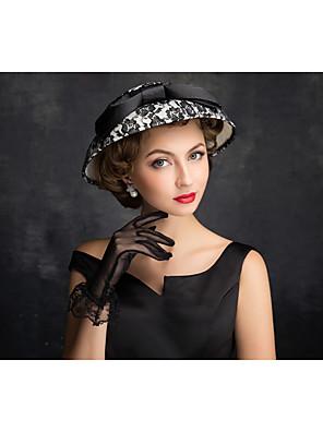 נשים תחרה / פשתן / רשת כיסוי ראש-חוץ כובעים חלק 1